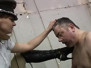 human spittoon