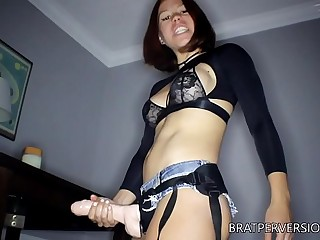 Homewrecker: Strap-on  and a..