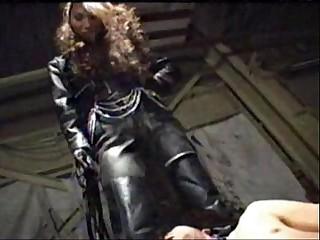 asian femdom full leather..