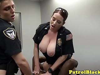 Black thug cock raided by..