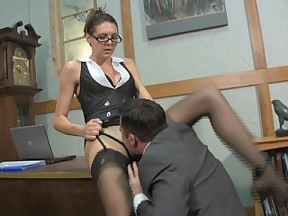 Boss Lady Pussy Service with..