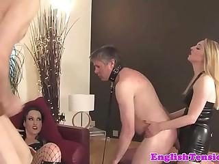 BDSM mistresses humiliate..