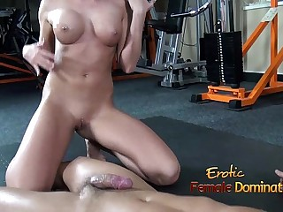 Big Titted Mistress Smothers..