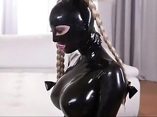 Latex slave lesbian..