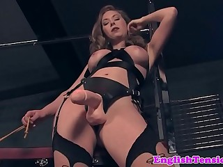 Dominating mistress pissing..