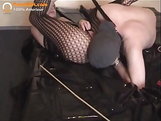 Slave husband and mistress..