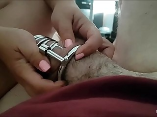 mistress locked my dick