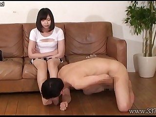 Boots Licking with Japanese..
