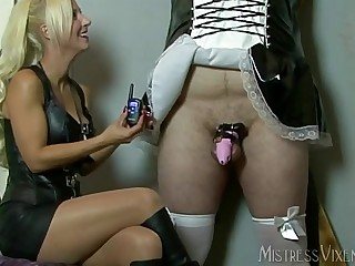 Mistress Vixen Chastity Maid..