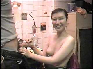 Mistress Sayako Sucks Cock..