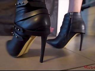 Mistress Boots with High..