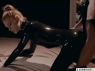 Foot Fetish Mistress Latex..