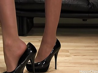 Mistress Anique high heels..