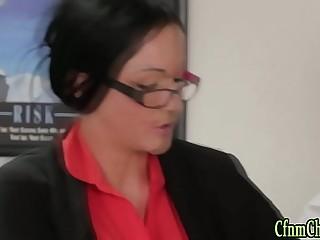 Spex brit mistress jerk