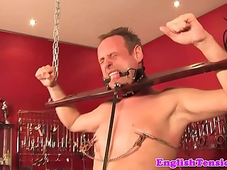 British bdsm dungeon fun..