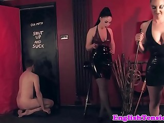 Mistresses dominating subs..