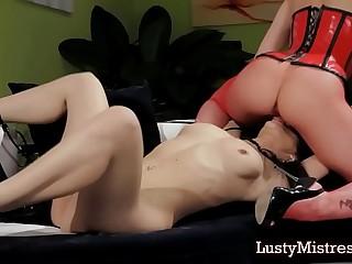 Lesbian Mistress Dominating