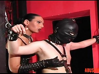 Mistress Gives a Slave a Hot..