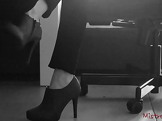 Femdom Wife gets her Shoes..