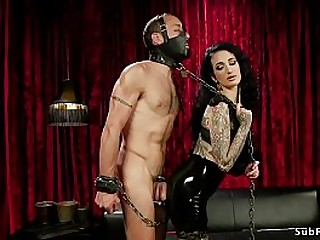 Huge tits goth mistress..