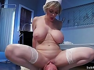 Big tits Milf nurse mistress..