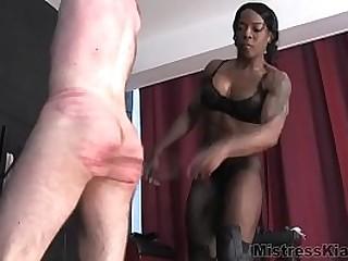 black femdom hard whipping