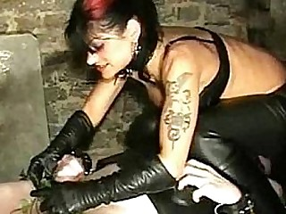 Mistress electro shocks..