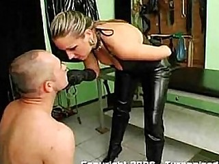 Brutal mistress spit..