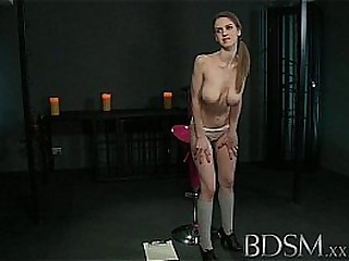 BDSM XXX Young Girl gets a..