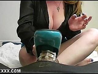 Mistress Cummy Feet Cuckold..