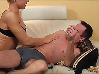 Dominating ballbusting