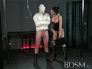 BDSM XXX Slave boy in..