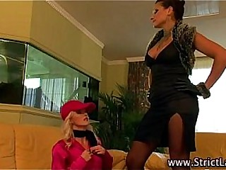 Lezdom mistress punishment