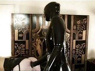 Sissy slave in latex got..