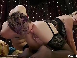 Blonde mistress anal..