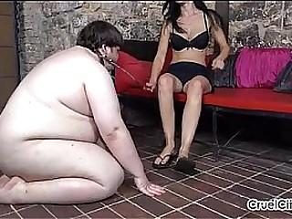 Fat Slave Worships..