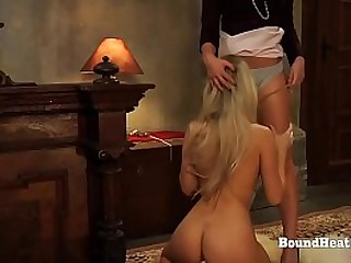 Bound Lesbian Slave And..