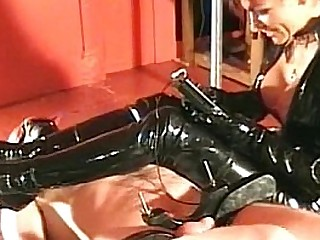 latex wearing mistress..