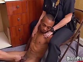 Femdom police officers fuck..