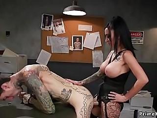 Alt femdom with huge tits..