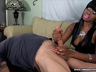 HandDomination interracial..