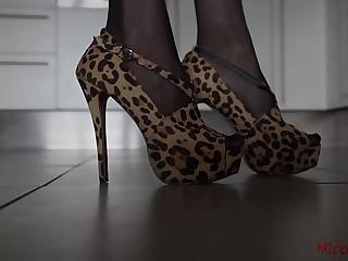 Femdom Shoes Compilation POV..
