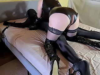 Tied Up Slave Whipped &..