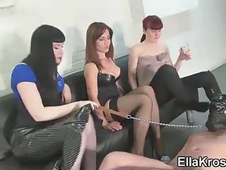 Three Mistresses, Six Feet,..