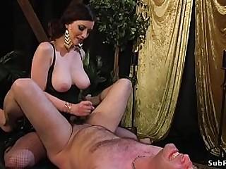 Big tits dark haired..