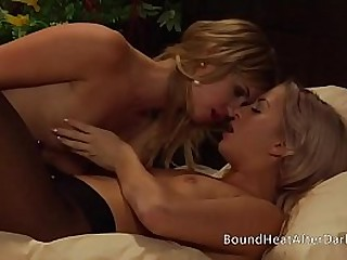 Young Lesbian Slave Licking..