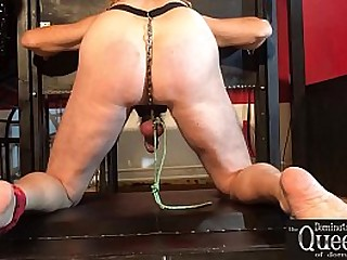 BDSM Femdom - Pillory