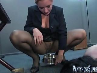 Mistress Dia Zerva pantyhose..