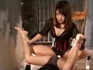 Tall Japanese Femdom
