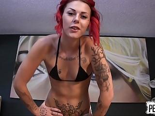 Ariel Kay Likes to Kick..